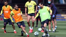 Lionel Messi 'doing perfectly' after returning to Barcelona training ahead of La Liga restart