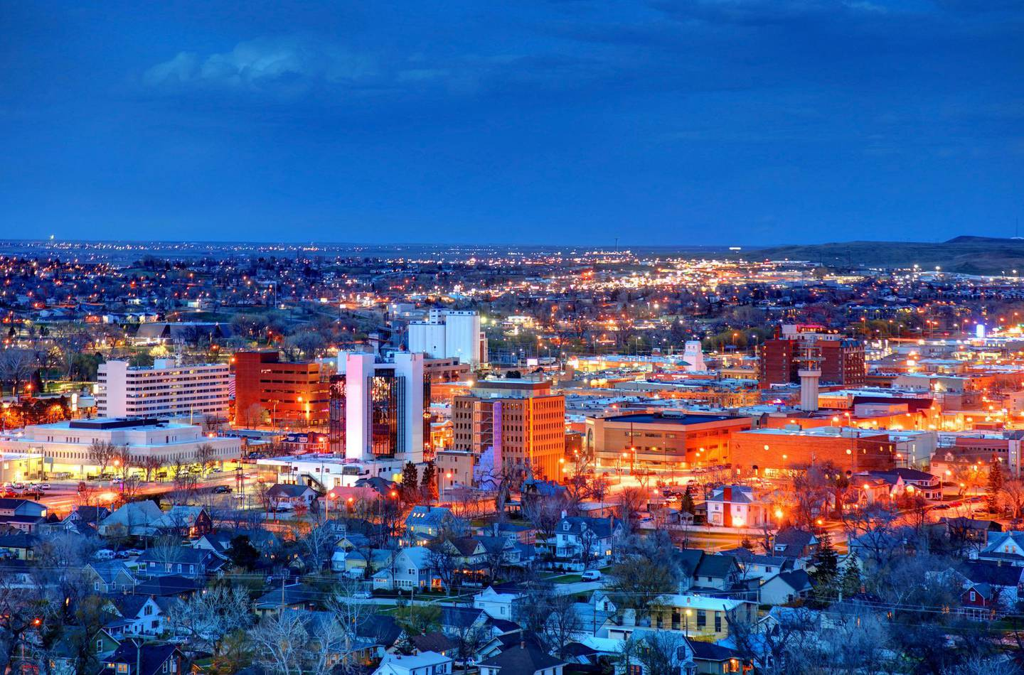 Rapid City is the second most populous city in South Dakota and the county seat of Pennington County. Getty Images