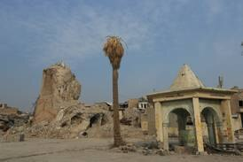 Iraq's Al Nuri Mosque 'rises again' to celebrate Prophet Mohammed's birthday