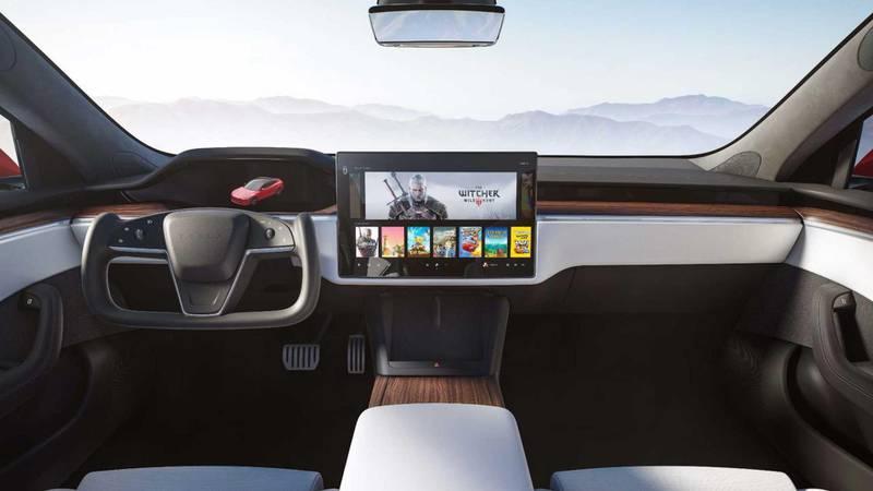2021 Tesla Model S Plaid. Courtesy Tesla