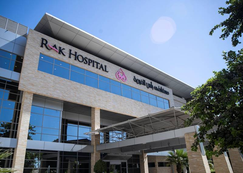 DUBAI, UNITED ARAB EMIRATES. 18 OCTOBER 2020. RAK Hospital has introduced a free-of-cost programme that offers physical, cognitive, dietary and psychological support to patients.(Photo: Reem Mohammed/The National)Reporter:Section: