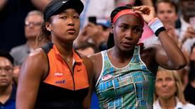 US Open: Emotional scenes as Cori Gauff joins Naomi Osaka in post-match speech - watch