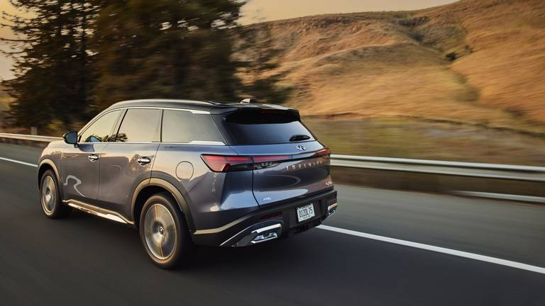 An image that illustrates this article Road test: the likeable new Infiniti QX60 fuses luxury with practicality