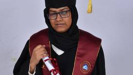 Partially blind pupil scores near perfect score in final UAE exams