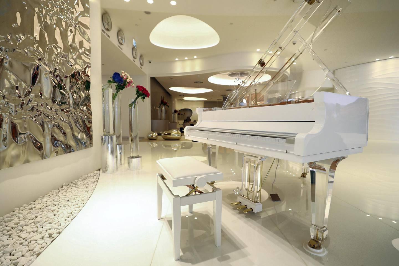 Dubai, United Arab Emirates - Reporter: N/A. Luxury. Travel. Jetex VIP Terminal at Al Maktuom International Airport. Sunday, November 8th, 2020. Dubai. Chris Whiteoak / The National