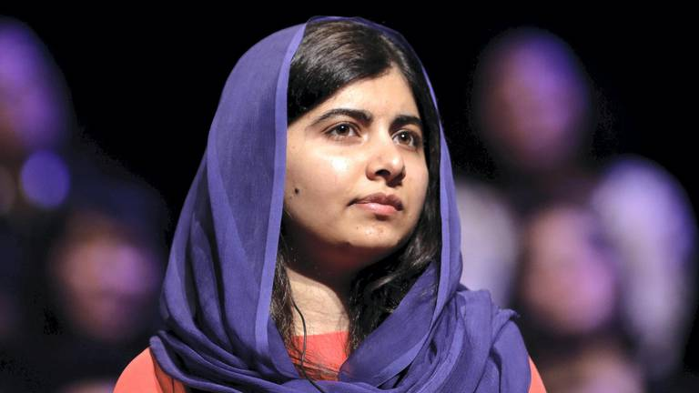 An image that illustrates this article Malala is 'deeply worried' about women and minorities in Afghanistan
