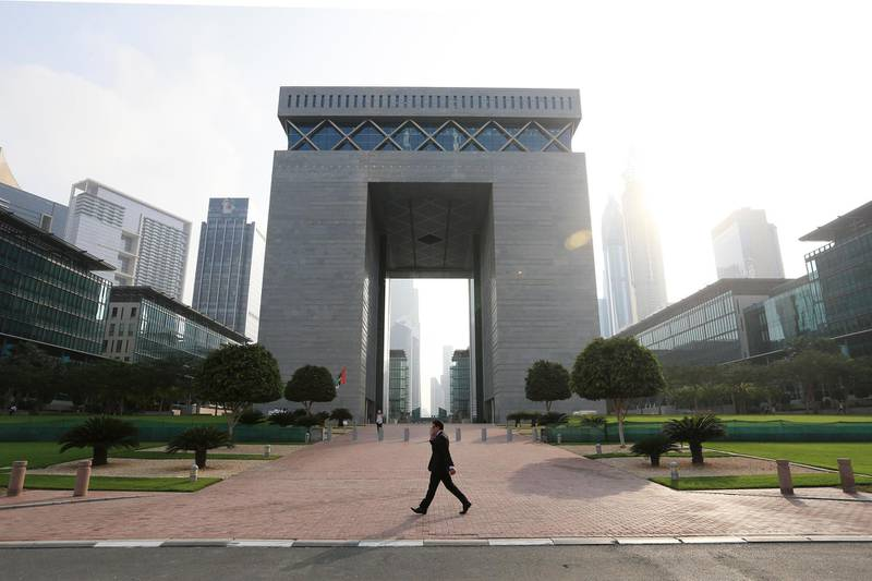 DUBAI, UAE. February 05, 2014 - Stock photograph of the DIFC Gate in Dubai, February 05, 2014.  (Photo by: Sarah Dea/The National, Story by: STANDALONE, Business Stock)