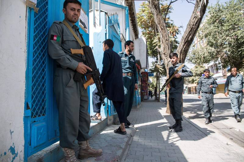 Security is tight in Kabul, and the Taliban has already attacked many polling stations throughout the city and country.