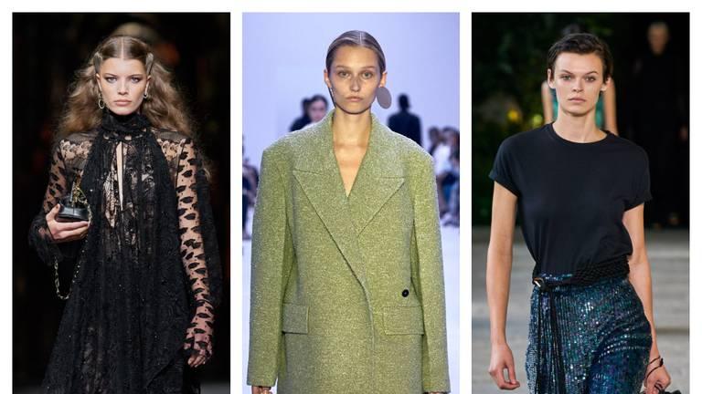 An image that illustrates this article Milan Fashion Week: Fendi and Alberta Ferretti bring joy back to the catwalk