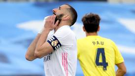 Real Madrid v Villarreal player ratings: Karim Benzema 8, Raphael Varane 5; Dani Parejo 8, Carlos Bacca 6