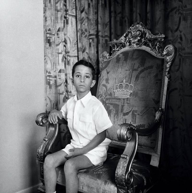 King Faisal II of Iraq, became King after the death of his father in an automobile accident. (Photo by © Hulton-Deutsch Collection/CORBIS/Corbis via Getty Images)