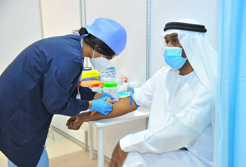 File Photo: Trials for a Covid-19 vaccine in Abu Dhabi are ongoing. Courtesy: Department of Health