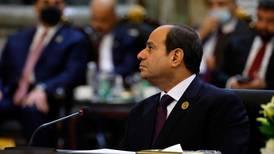 Egypt's president and Qatari emir meet on sidelines of Baghdad summit