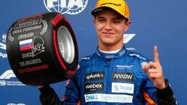 Lando Norris seizes shock pole in Russian Grand Prix as Lewis Hamilton hits the wall