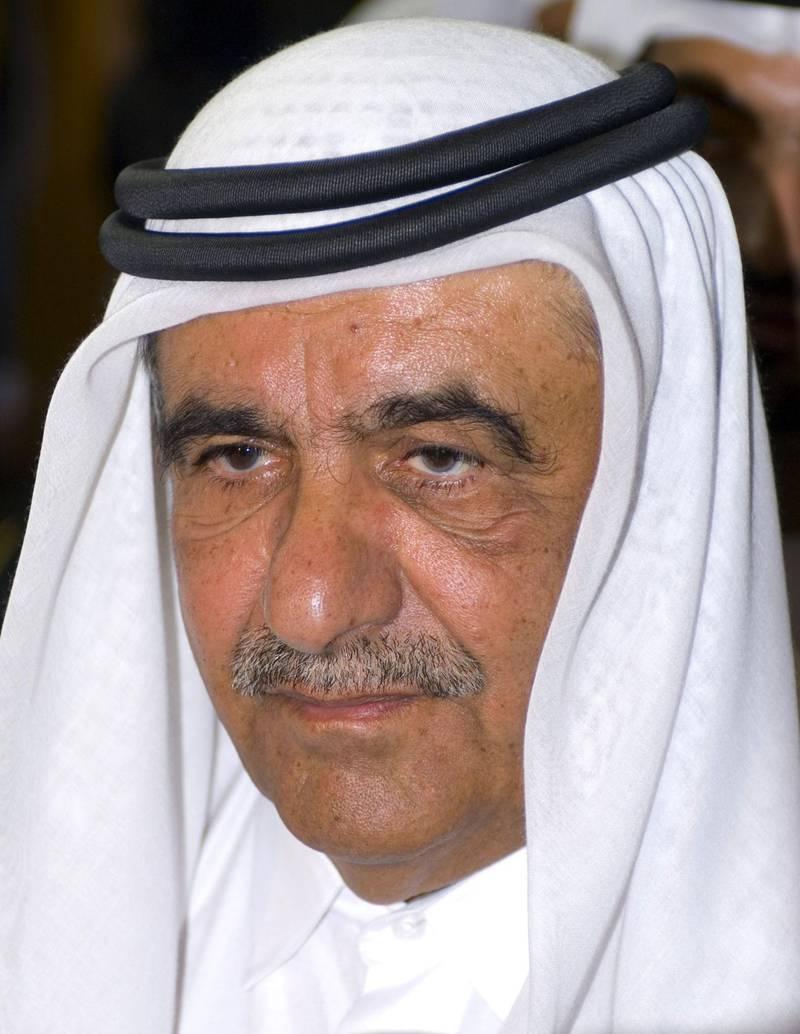 Sheikh Hamdan bin Rashid Al Maktoum, Minister of Finance and Industry for the United Arab Emirates opened the 27th edition of GITEX in Dubai, United Arab Emirates, on Saturday, Sept. 8, 2007. Photographer: Charles Crowell/Bloomberg News