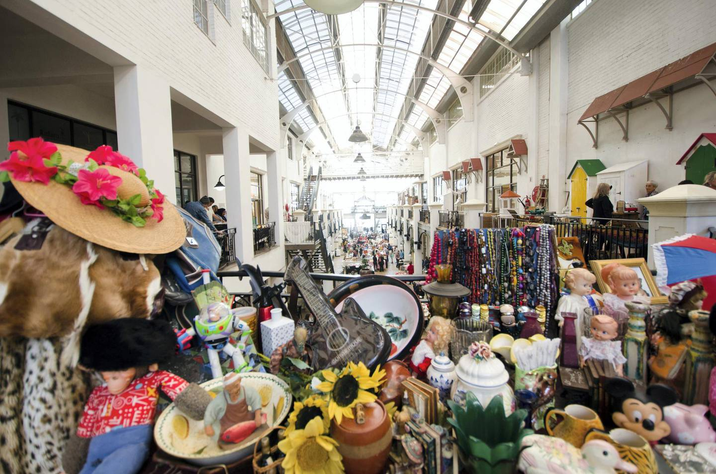 CTT Palms Market in Woodstock, Cape Town, South Africa. Lisa Burnell / Cape Town Tourism