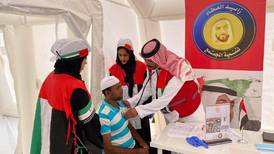 UAE hospital on wheels treats uninsured blue-collar workers for free