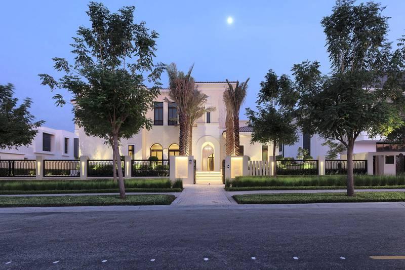 Signature Mansion |The Grove Dubai Hills. Courtesy Luxhabitat Sotheby's International Realty