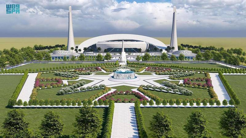 King Salman Mosque to be built at the International Islamic University in Pakistan. SPA