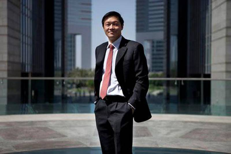 Dubai, United Arab Emirates - May 21 2013 - Yong Wei Lee, Head of MENA Equities for Emirates NBD poses for a portrait at DIFC. (Razan Alzayani / The National)