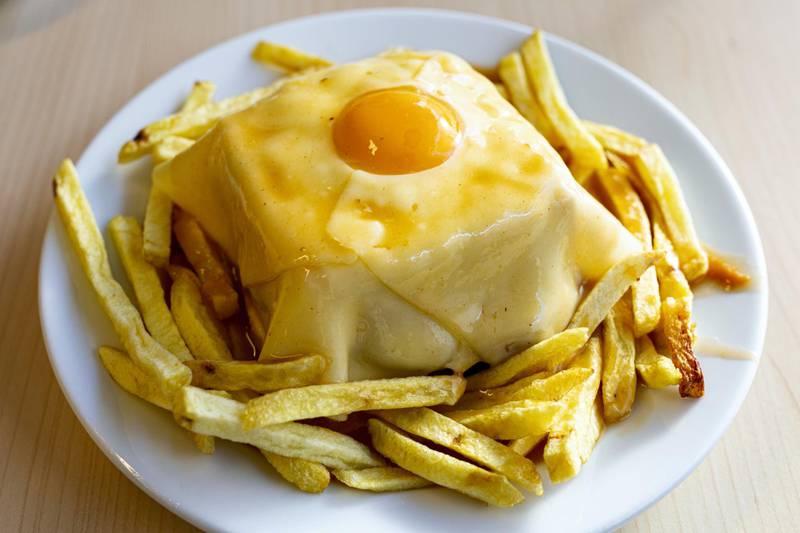 Francesinha is a Portuguese sandwich originally from Porto