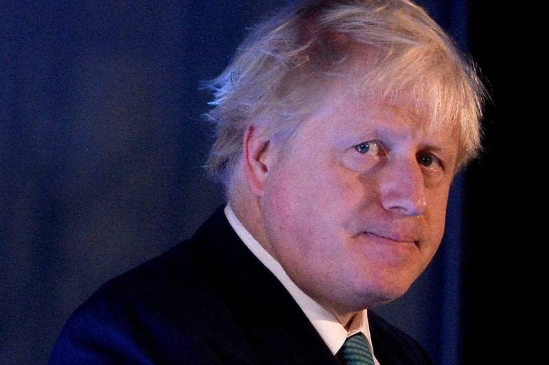 Britain's Foreign Secretary Boris Johnson attends the 2017 Chatham House London Conference at the St Pancras Renaissance Hotel in London, Britain. October 23, 2017. REUTERS/Mary Turner