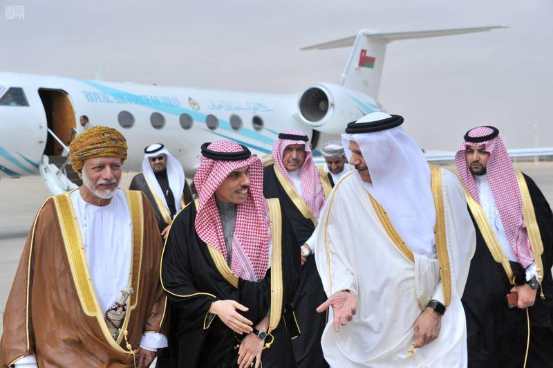 FILE PHOTO: Foreign ministers of the Gulf Cooperation Council (GCC) arrive, ahead of an annual leaders summit in Riyadh, Saudi Arabia, December 9, 2019. Saudi Press Agency/Handout via REUTERS ATTENTION EDITORS - THIS PICTURE WAS PROVIDED BY A THIRD PARTY./File Photo