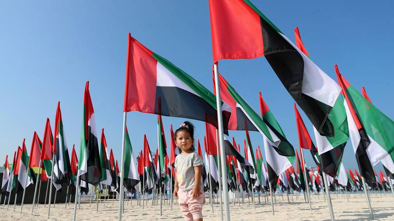 An image that illustrates this article Sheikh Mohammed calls on public to mark UAE Flag Day
