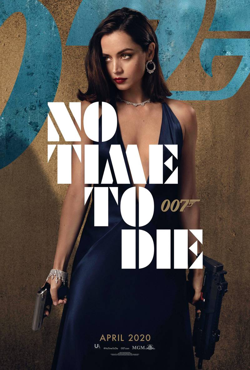 No Time To Die poster featuring Ana de Armas. Courtesy MGM