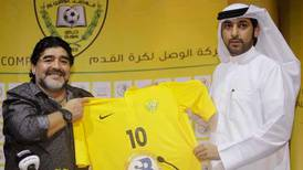 On this day, May 15, 2011: Diego Maradona named manager of Dubai side Al Wasl
