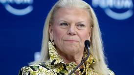 IBM's shares rise on new chief executive appointment