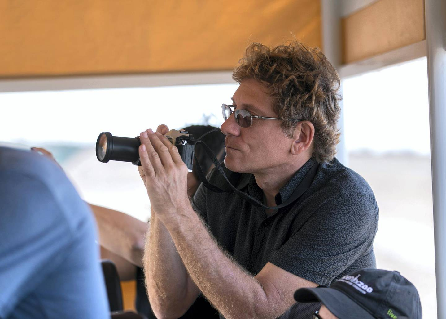 Abu DHABI, UNITED ARAB EMIRATES. 17 FEBRUARY 2019. Andy Bruckner, Research Coordinator, Florida Keys National Sanctuary. Cultural Diplomacy Tour for a delegation of conservation experts from the United States, visit Sir Bani Yas.(Photo: Reem Mohammed/The National)Reporter: Anna ZachariasSection: