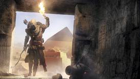 "Ubisoft's ""Assassin's Creed Origins"" boosts sales, propels shares"