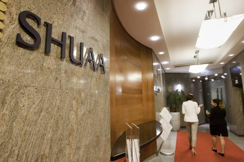Dubai, United Arab Emirates, May 11, 2014 -   SHUAA Capital Offices at Emirates Towers. ( Jaime Puebla / The National Newspaper ) Business