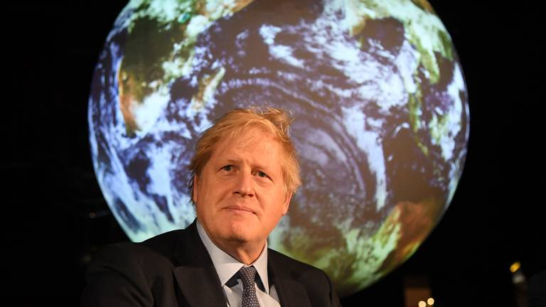 An image that illustrates this article Success or failure for 'King of Cop26' Boris Johnson hang on carbon commitments and cash