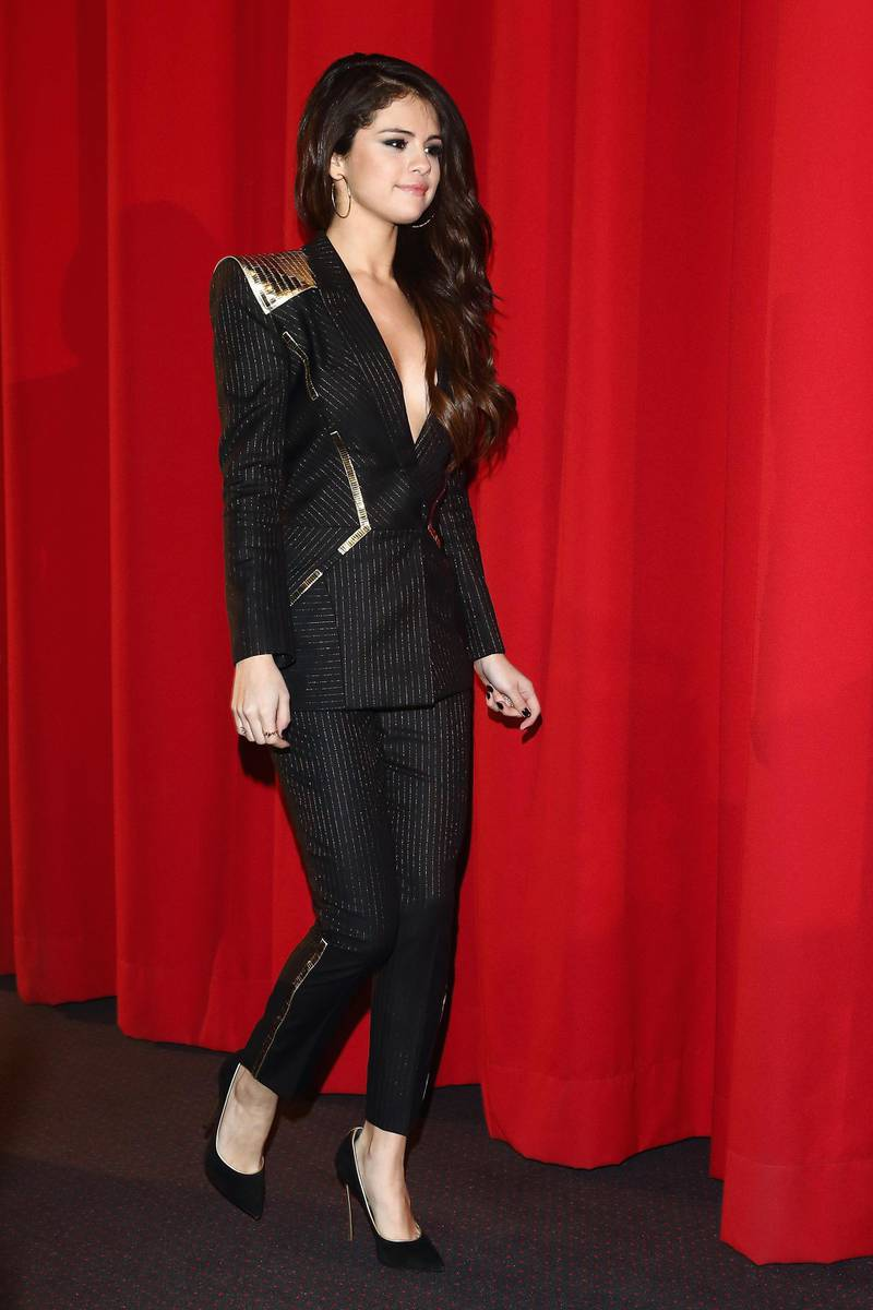 BERLIN, GERMANY - FEBRUARY 19:  Selena Gomez attends the 'Spring Breakers' Germany premiere at CineStar on February 19, 2013 in Berlin, Germany.  (Photo by Andreas Rentz/Getty Images)