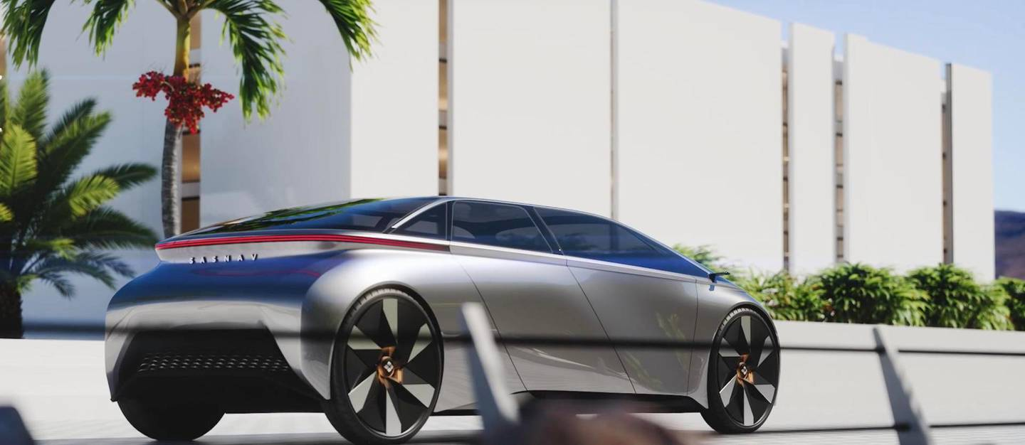 CGI renderings of an autonomous vehicle designed to transport people around the city. Courtesy RPDC