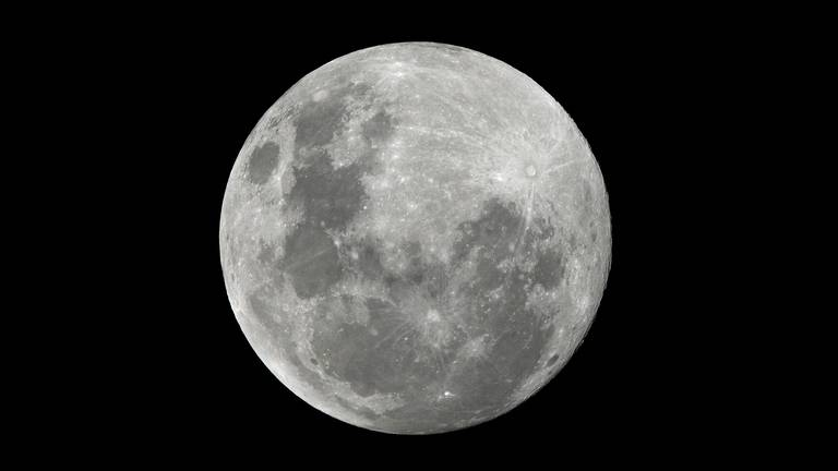 An image that illustrates this article Last volcanic activity on Moon much later than scientists thought
