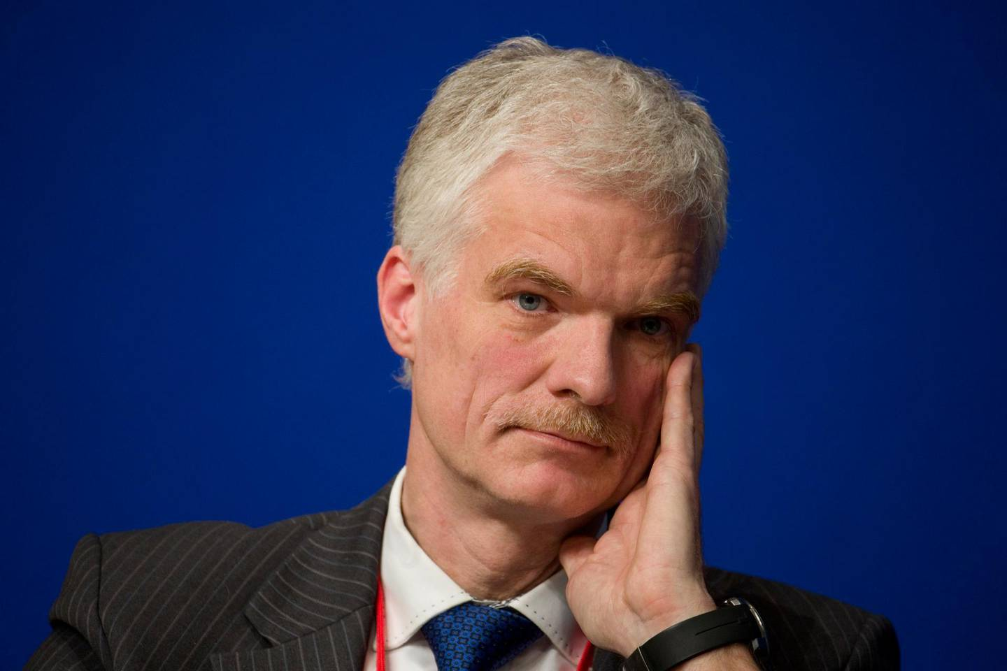 """Andreas Schleicher, Director for the Directorate of Education and Skills at the OECD, attends a symposium """"Les Entretiens du Tresor"""" at the Bercy Finance Ministry in Paris January 23, 2015.   REUTERS/Charles Platiau (FRANCE - Tags: BUSINESS POLITICS HEADSHOT)"""