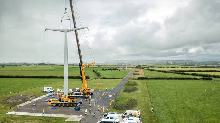 An image that illustrates this article The T line: UK's electricity pylons get a new look