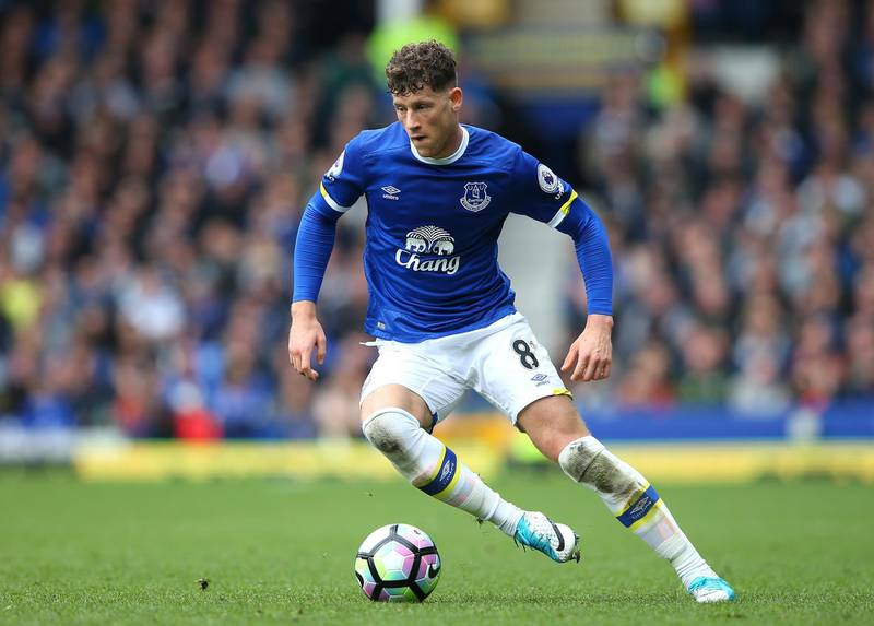 (FILE PHOTO) LIVERPOOL, ENGLAND - APRIL 15: Ross Barkley of Everton in action during the Premier League match between Everton and Burnley at Goodison Park on April 15, 2017 in Liverpool, England.  (Photo by Alex Livesey/Getty Images)