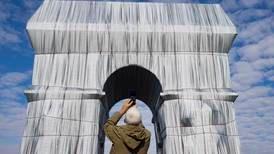 Christo's 'L'Arc de Triomphe, Wrapped' opens to the public in Paris