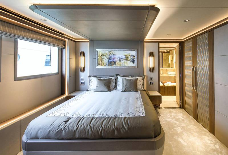 Majesty 140 - Interior - Double Guest Stateroom. Courtesy: Seven Media