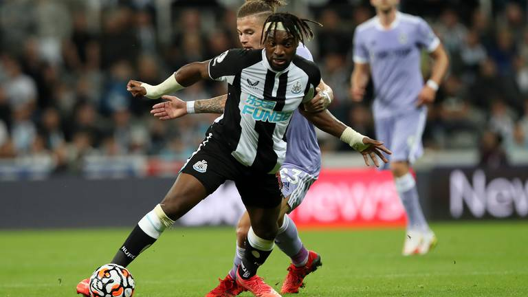 An image that illustrates this article Newcastle v Leeds ratings: Saint-Maximin 8, Longstaff 4; Raphinha 7