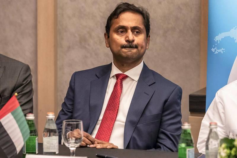 ABU DHABI, UNITED ARAB EMIRATES. 15 JANUARY 2019. UTICO partnership with Oman company Majlis. Richard Menezes, MD and CEO of UTICO. (Photo: Antonie Robertson/The National) Journalist: Jennifer Gnana Section: Business.