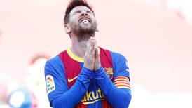 Frustration for Lionel Messi and Barcelona after goalless draw with Atletico Madrid