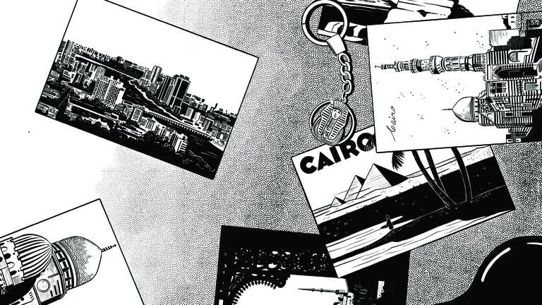 An image that illustrates this article Last chance to see: Nora Zeid celebrates a different side of Cairo in Dubai exhibition
