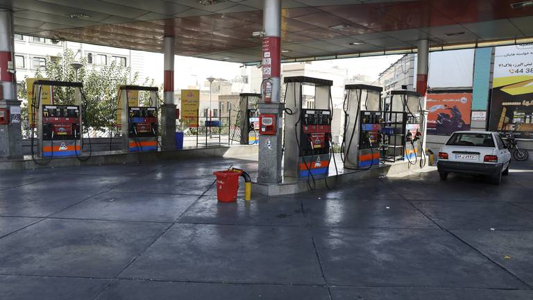An image that illustrates this article Tehran petrol stations hit by suspected cyber attack