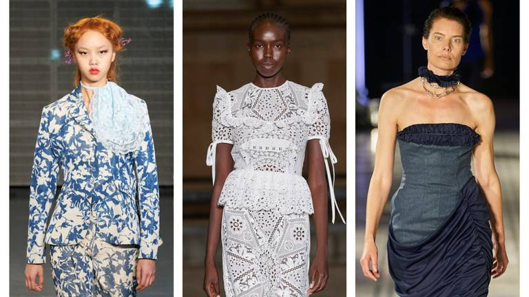 An image that illustrates this article London Fashion Week: day three highlights from Erdem and Roland Mouret