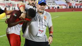 Diego Maradona and Fujairah face play-off for promotion to the Arabian Gulf League